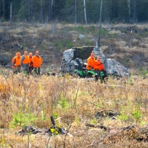 hunt club dragline crew